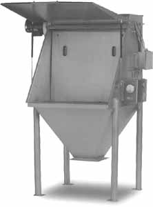 Bag Dump Station for Manual Hand Dumping of Flour or Special Blends