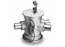 Line Diverter Valve or Tube Selector for Pneumatic Conveying Systems
